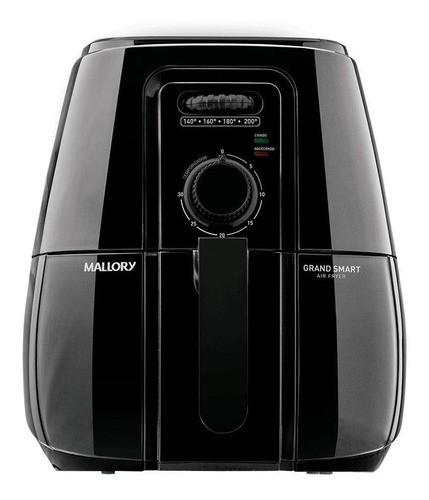 Fritadeira Elétrica Sem Óleo Mallory Grand Smart Air Fryer Preta 110v