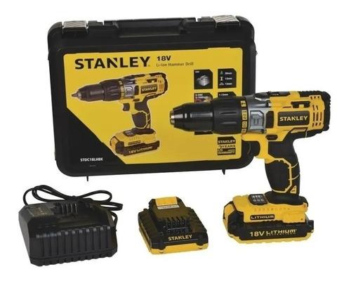 Furadeira / Parafusadeira Bateria 20v-stdc18lhbk-br Stanley