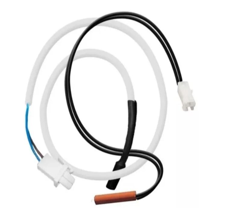 Fusível Térmico + Sensor Degelo refrigerador BOSCH/MABE/GE/CONTINENTAL