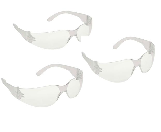 KIT (3) Óculos ÁGUIA DANNY policarbonato óptico, lente curva, leve e resistente 14700