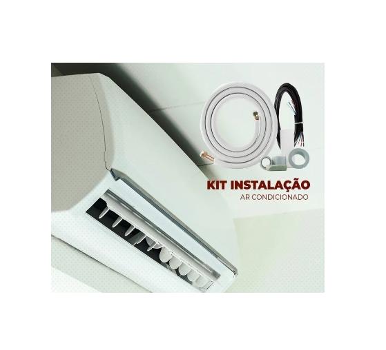 Kit Instalação Ar Condicionado 9.000 A 12.000 Btus Inverter 7000 a 9000 convencional