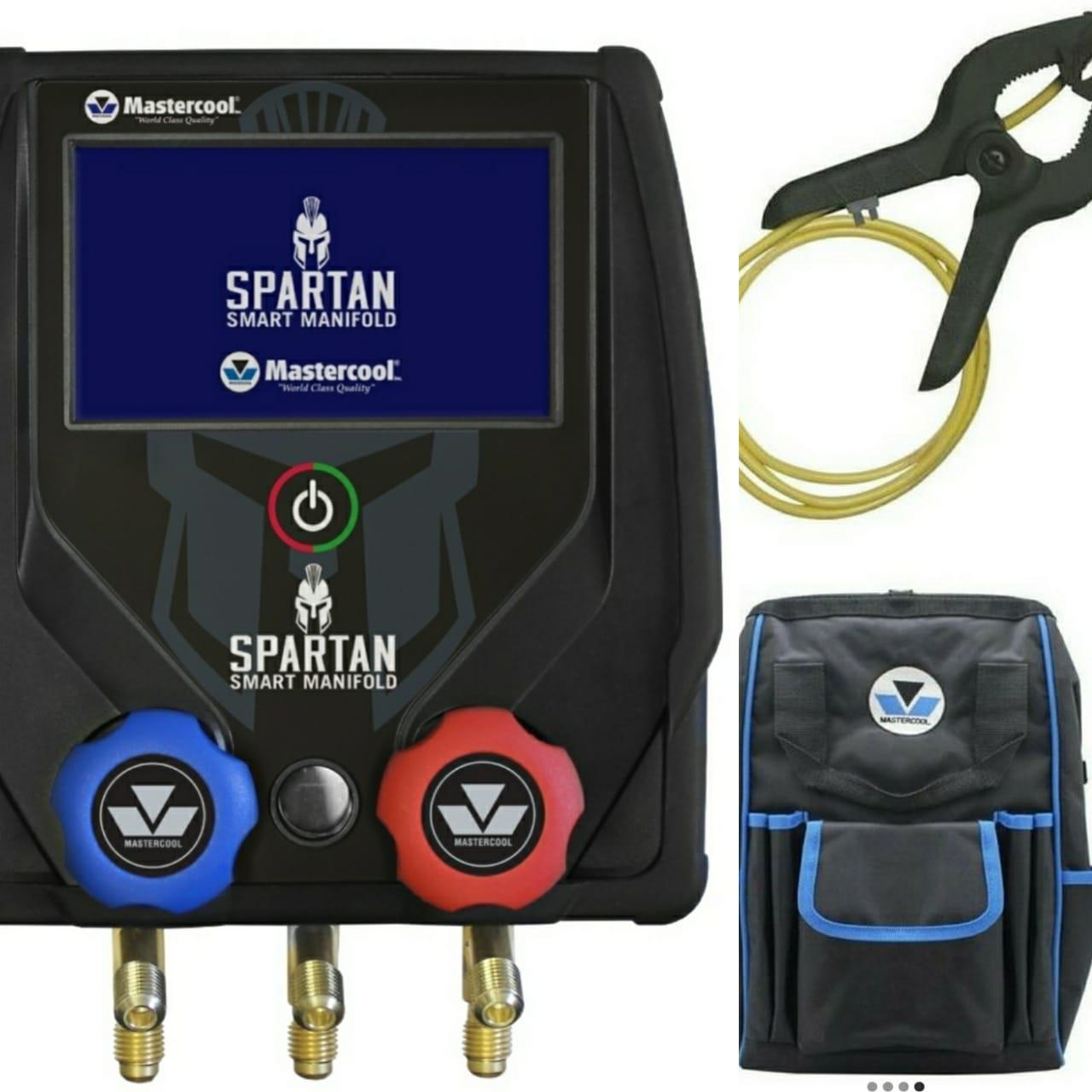 Kit Manifold Digital Spartan 2 vias Sensor Mochila MASTERCOOL