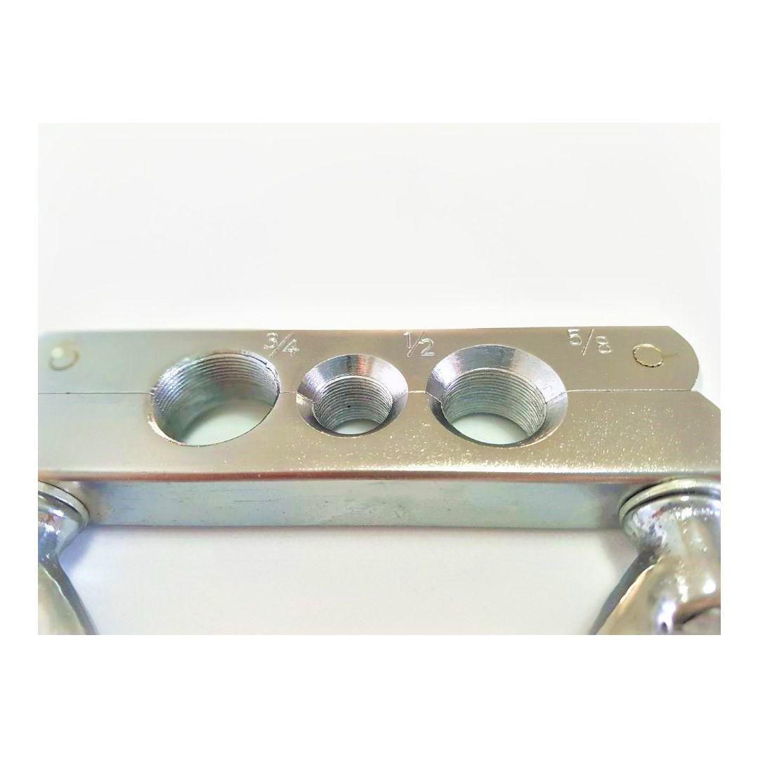 Kit Manifold R12 R22 R404 ET636 + Flangeador/Alargador de tubos