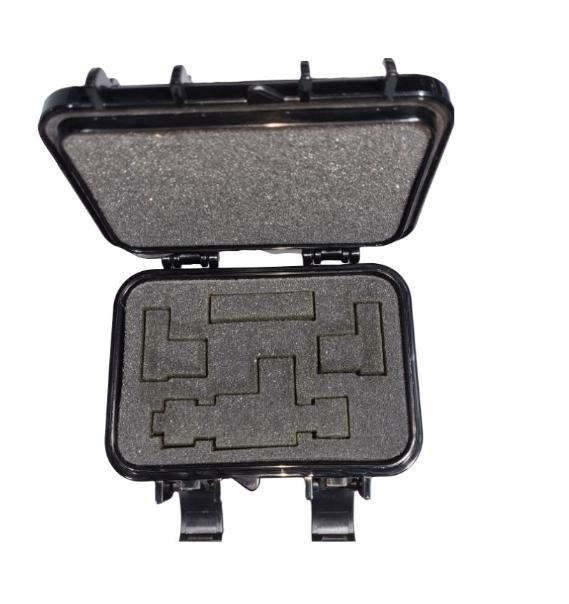 KIT Válvula Otimizadora 5.0 1/4f x 1/4m x 3/8m + Case + Adaptador p/ Testo 552 ZL Soluções