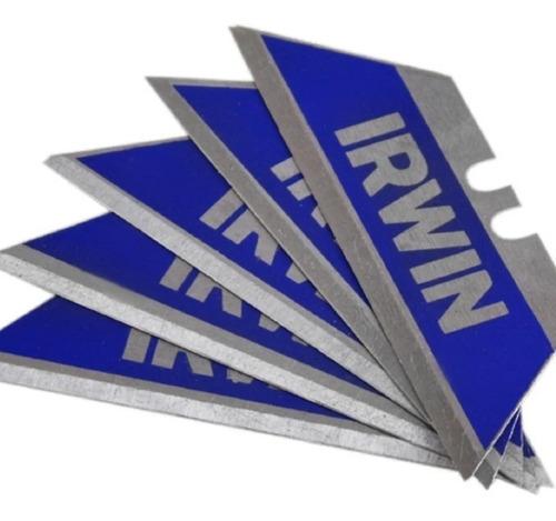 Lâmina Bimetálica Estilete Trapezoidal 5 Peças Irwin 2084100