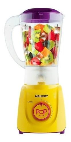 Liquidificador Mallory Tornado Pop Colorido 127v Amarelo Anúncio com variação