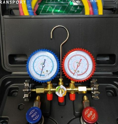 Manifold Automotivo Et60gm R134a R12 R22 R404 Mang 150cm Eco