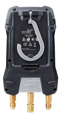 Manifold Digital 2 Vias Bluetooth Testo 550s Sonda Com Fio