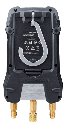 Manifold Digital Bluetooth 2 Vias Testo 550s Kit Smart 5502