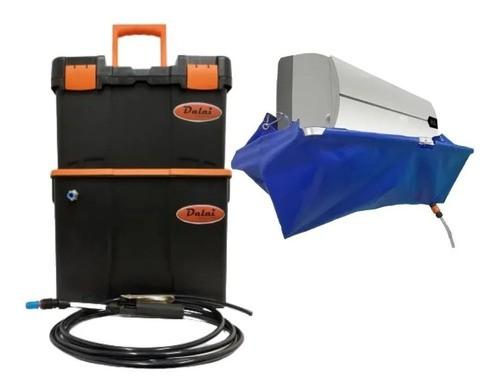 Maquina De Lavar Ar Condicionado + Coletor P/ Limpeza 24 Mil