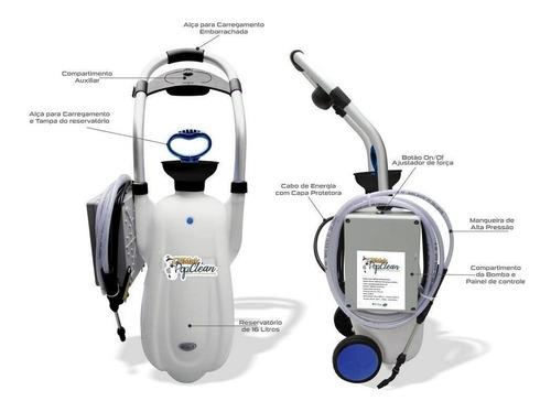 Máquina De Limpeza Gbmak Pop Clean Split 100psi Automatica