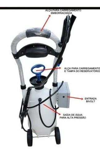 Máquina Limpeza Ar Condicionado Split 16 Litros 100 Psi