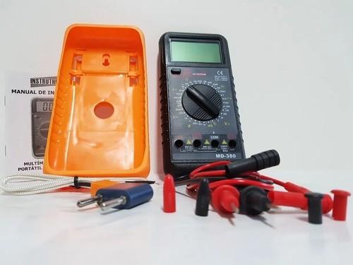 Multímetro Digital C/ Freqüência, Capacitância E Temperatura
