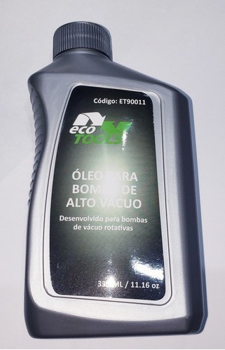 Oleo Lubrificante Bomba De Vácuo Vg46 330ml Ecotools