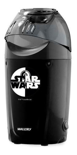 Pipoqueira Elétrica Mallory Star Wars Ar Quente Preto 1200w 127v