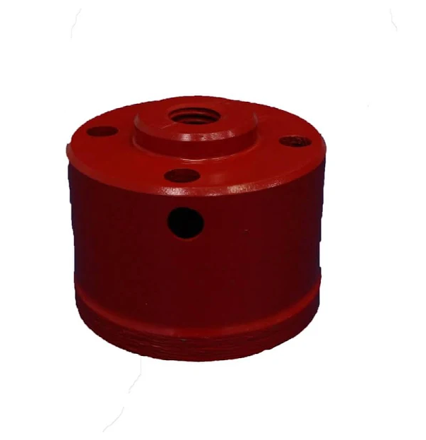 Serra Copo Diamantada Braskoki Ksc-60/50/7mm Na Cor Vermelha 256900060
