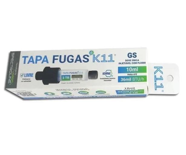 TAPA FUGAS K11 - SERINGA PARA SISTEMAS SEM PRESSÃO - 10ML - 36.000 BTUS