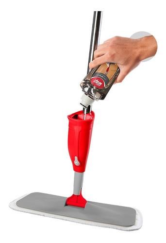Vassoura Wap Mop Spray Com Reservatório + Refil Microfibra Anúncio com variação