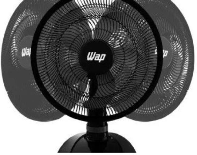 Ventilador De Mesa Wap W130 Rajada Turbo 220v