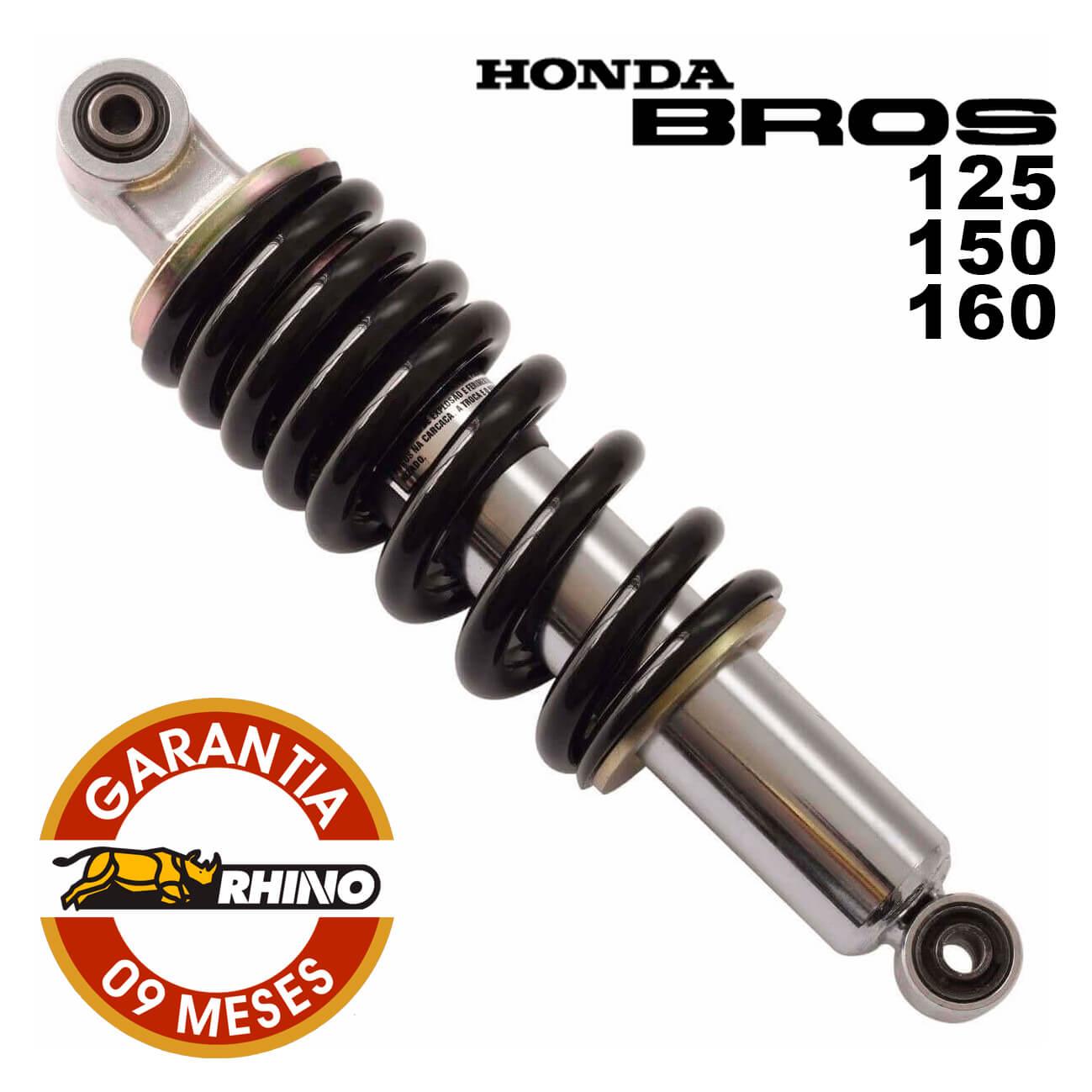 Amortecedor Traseiro NXR 125/150/160 Bros - Rhino