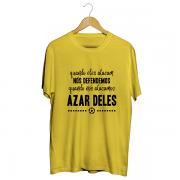 Camiseta - AZAR DELES! Masculino