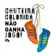 Camiseta - CHUTEIRA COLORIDA! Masculino
