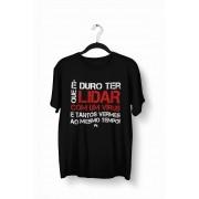 Camiseta- É duro que lidar com o vírus