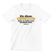 Camiseta - FUTEBOL COM OS AMIGOS, CHURRASQUINHO DEPOIS!
