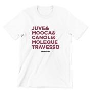 Camiseta - JUVE, MOOCA, CANOLI E MOLEQUE TRAVESSO