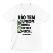 Camiseta - NÃO TEM SUPERCOPA (versão verde)