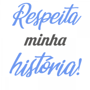 Camiseta - RESPEITA MINHA HISTÓRIA! Masculino