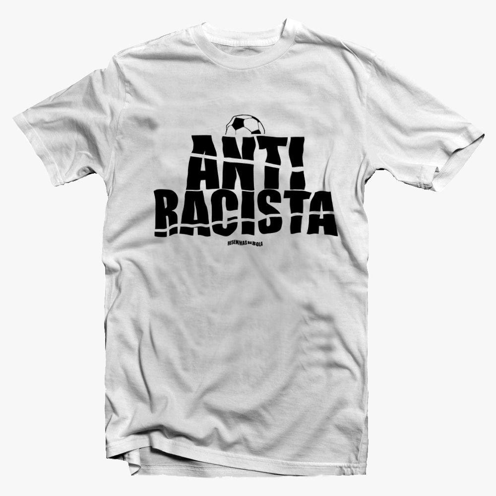 Camiseta - Anti Racista- Masculino