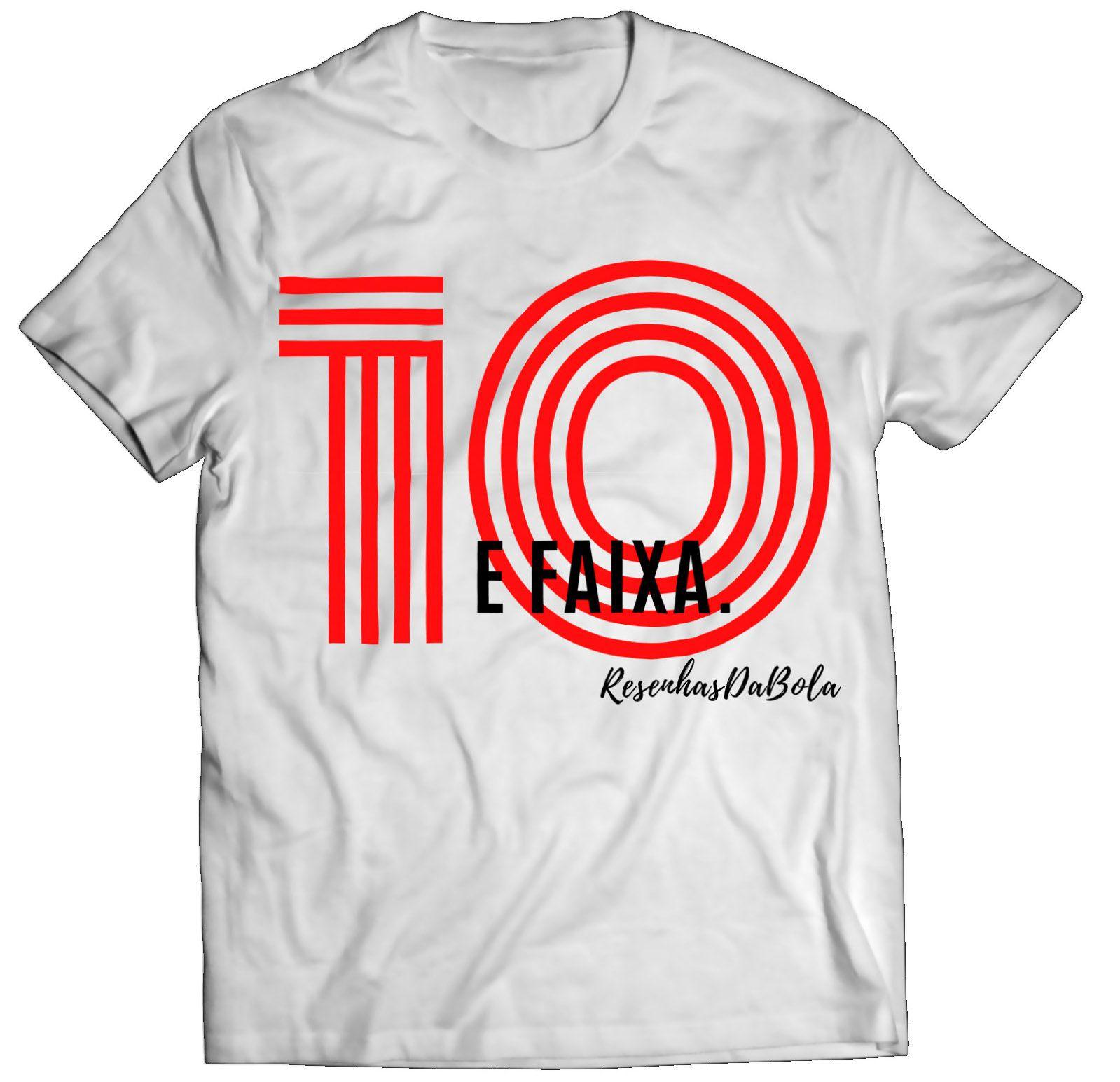 Camiseta - 10 E FAIXA - Masculino