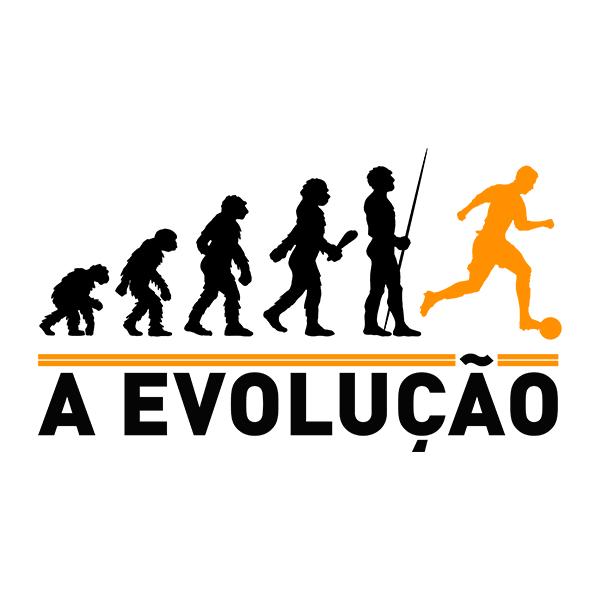 Camiseta - A EVOLUÇÃO. Masculino