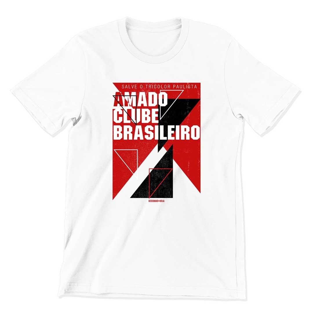 Camiseta - AMADO CLUBE BRASILEIRO