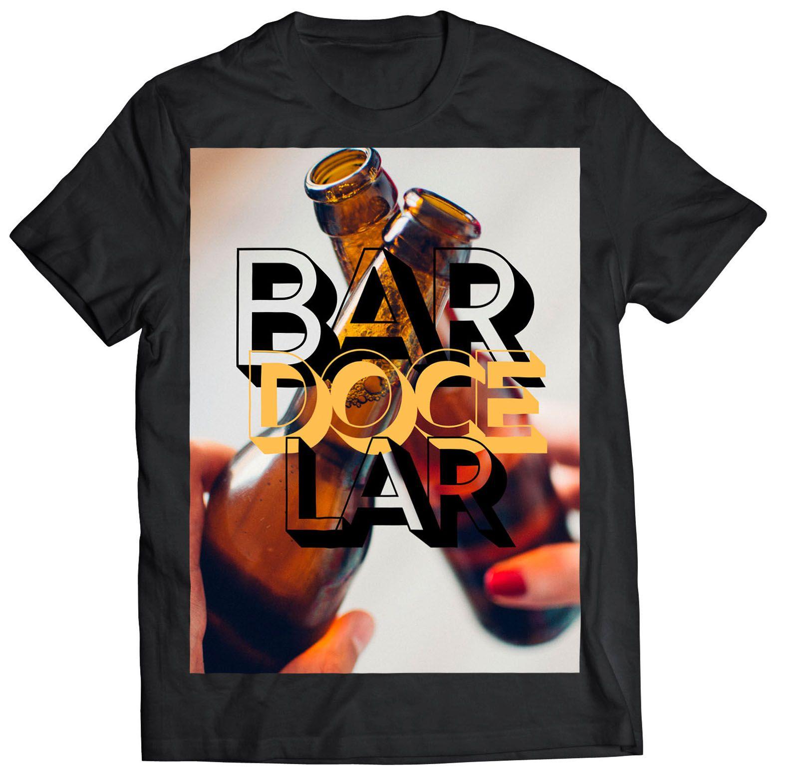 Camiseta - BAR DOCE LAR - Maculino