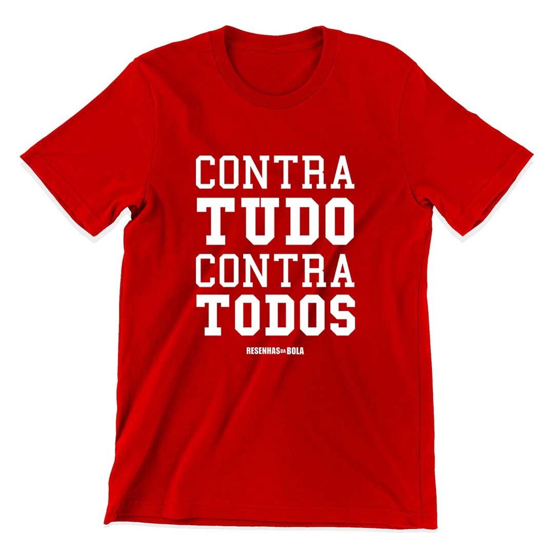 Camiseta - CONTRA TUDO CONTRA TODOS