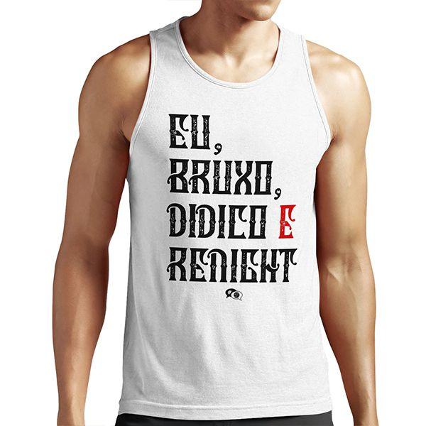 Camiseta - EU, BRUXO, DIDICO E RENIGHT. Masculino