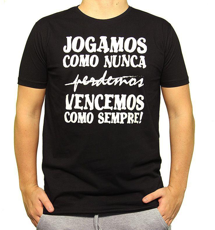 Camiseta - JOGAMOS COMO NUNCA. Masculino