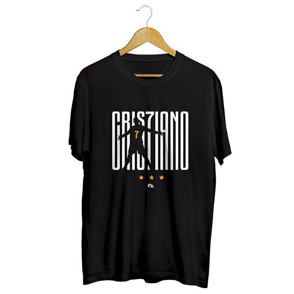 Camiseta - JUVENTUS: CRISTIANO RONALDO CR7. Masculino