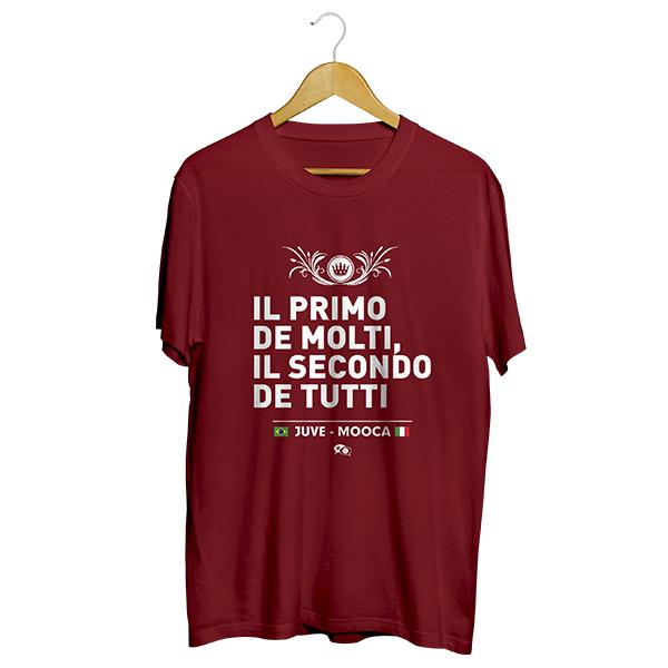 Camiseta - JUVENTUS DA MOOCA: IL SECONDO DE TUTTI. Masculino