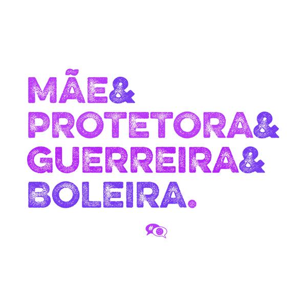 Camiseta - MÃE BOLEIRA. Feminino