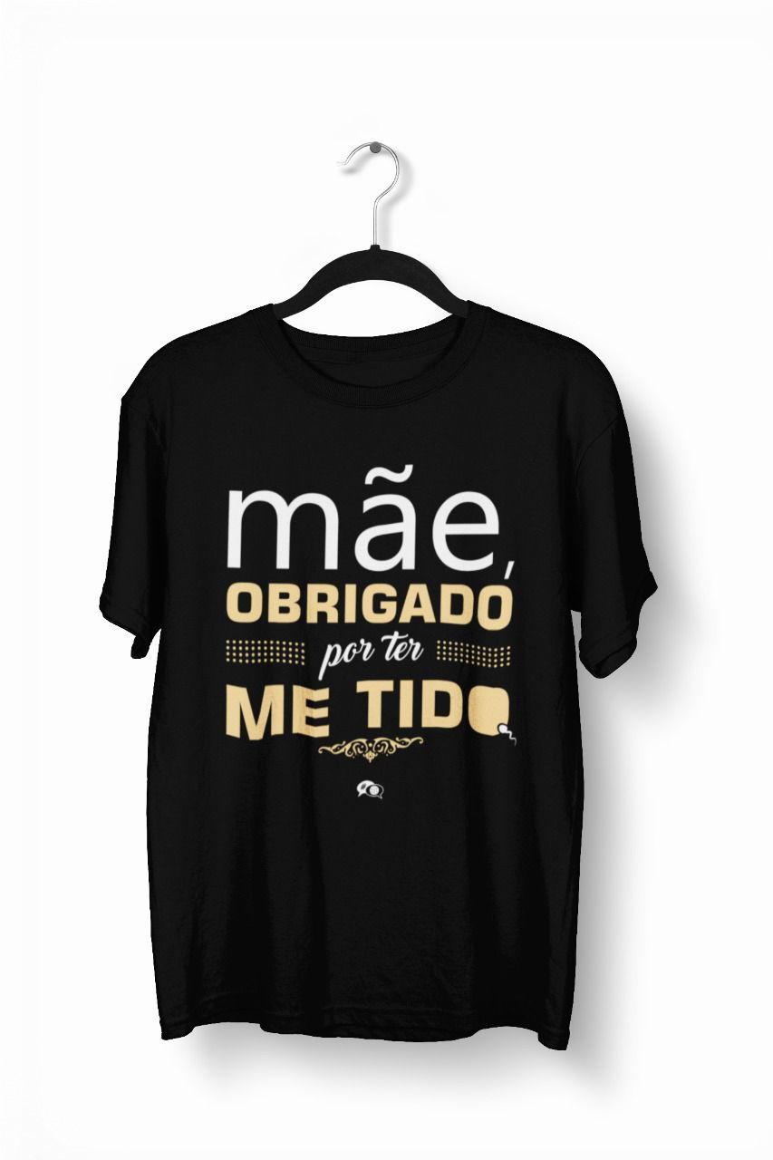 Camiseta - OBRIGADO MÃE - Masculino