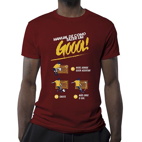 Camiseta - Manual de como fazer um gol