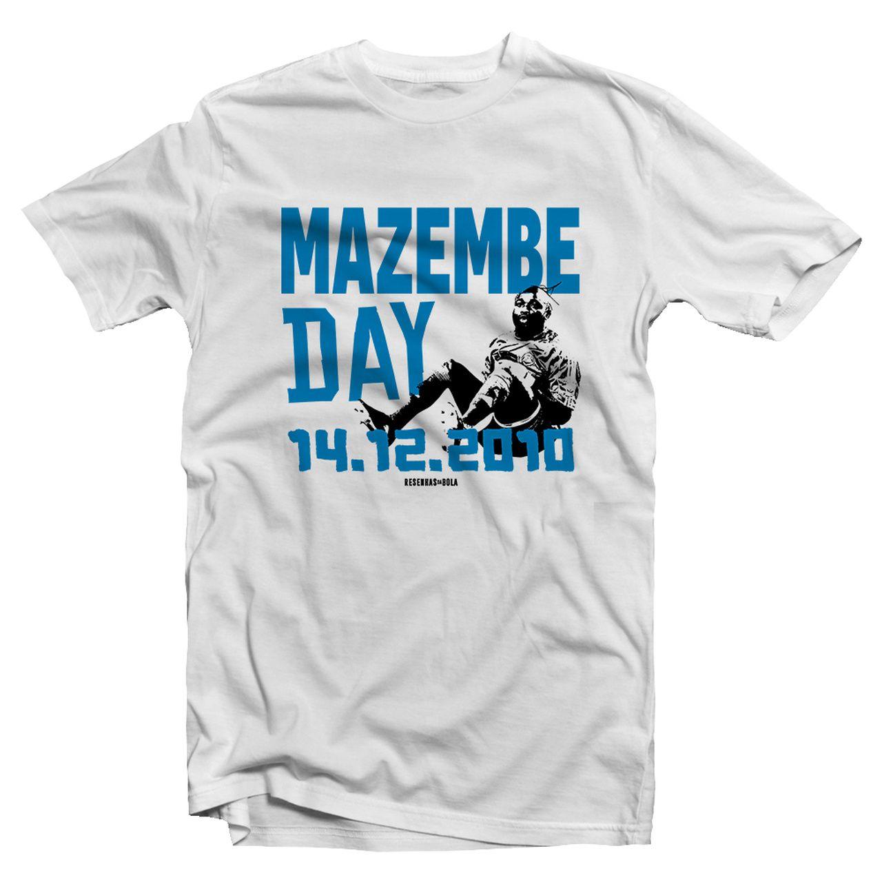 Camiseta - MAZEMBE DAY. Masculino