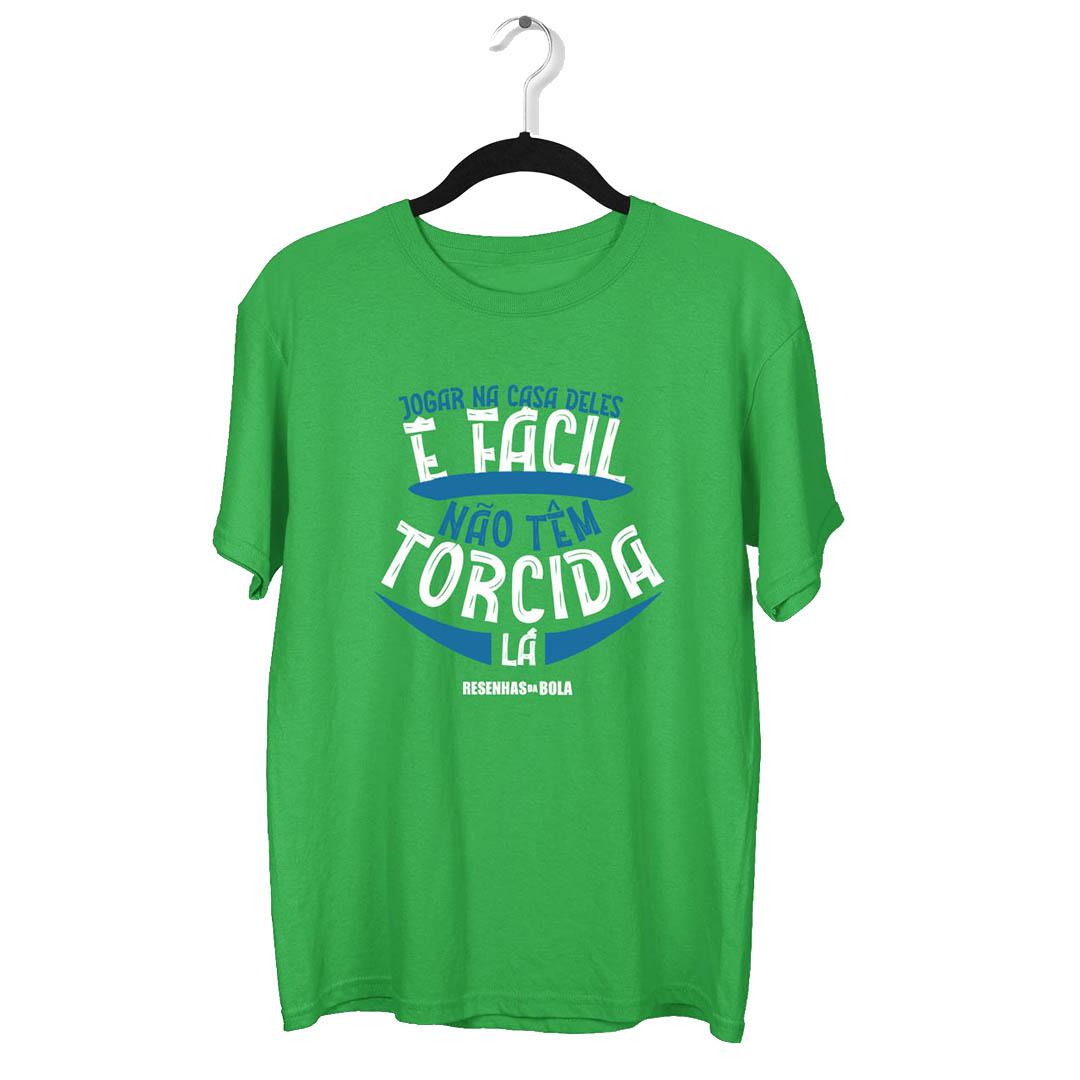 Camiseta - NA CASA DELES É FACIL, NÃO TEM TORCIDA LÁ!