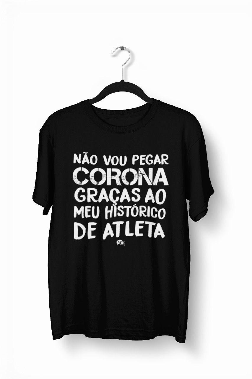 Camiseta- Não vou pegar corona