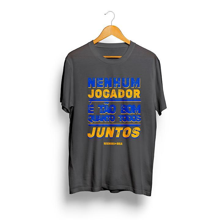 Camiseta - NENHUM JOGADOR É TÃO BOM QUANTO TODOS JUNTOS - Masculino