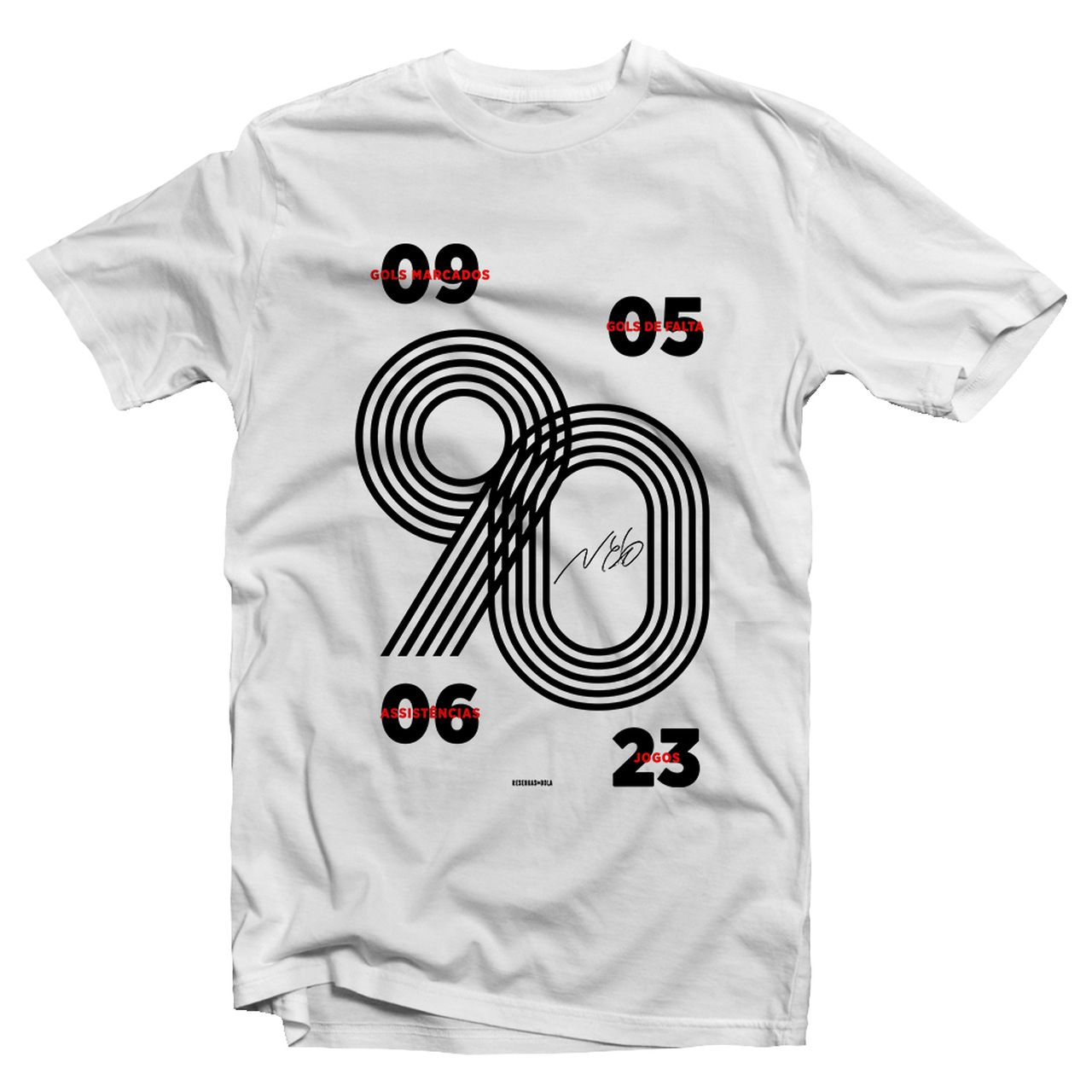 Camiseta - NETO 1990. Masculino