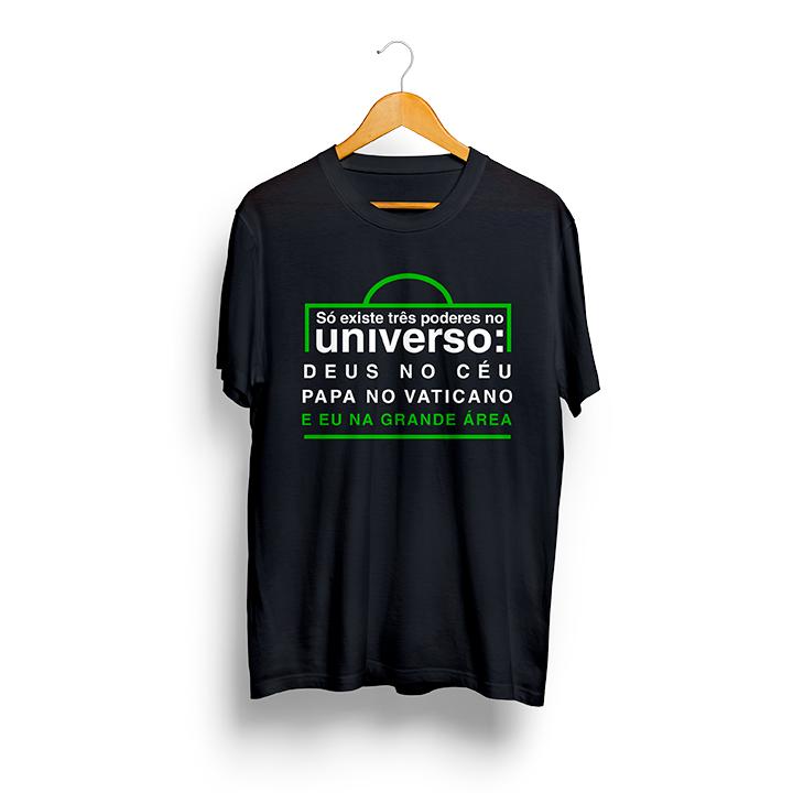 Camiseta - Os Três Poderes do Universo - Masculino
